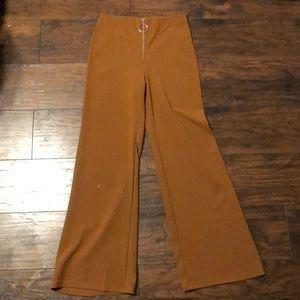 Highwaisted zip pants